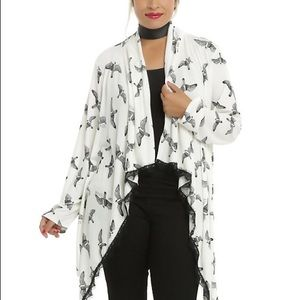 Miss peregrines bird lace flyaway cardigan
